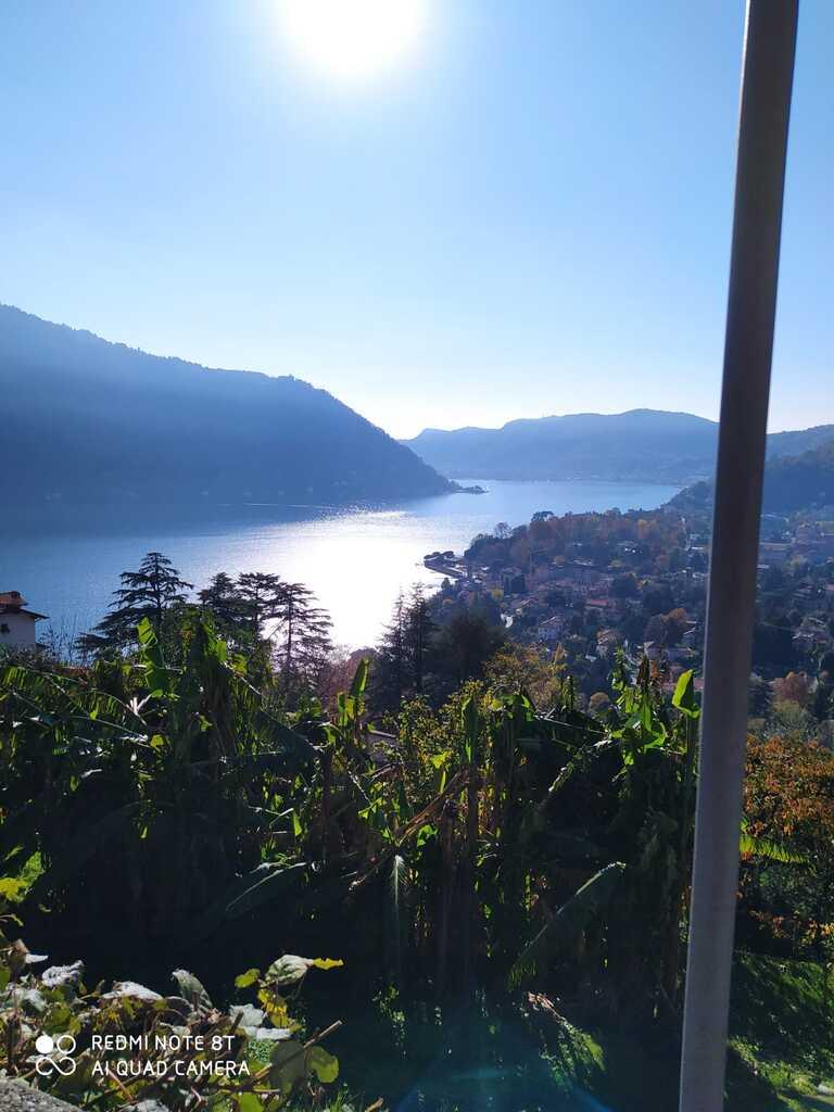 Infanzia di Rovenna - Paesaggio lago